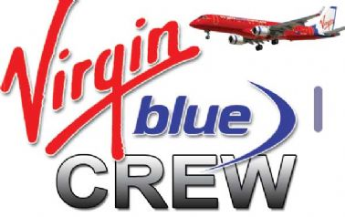 VIRGIN BLUE E190 Crew Tag